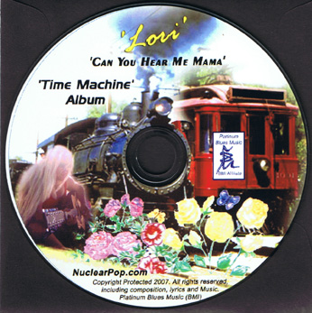 Order Can You Hear Me Mama CD from Lori new indie Artist