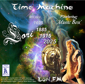 Lori's Time Machine album, cd, mp3 downloads new pop rock songs from www.lori.fm