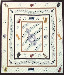 Victorian music king quilt from www.lori.fm